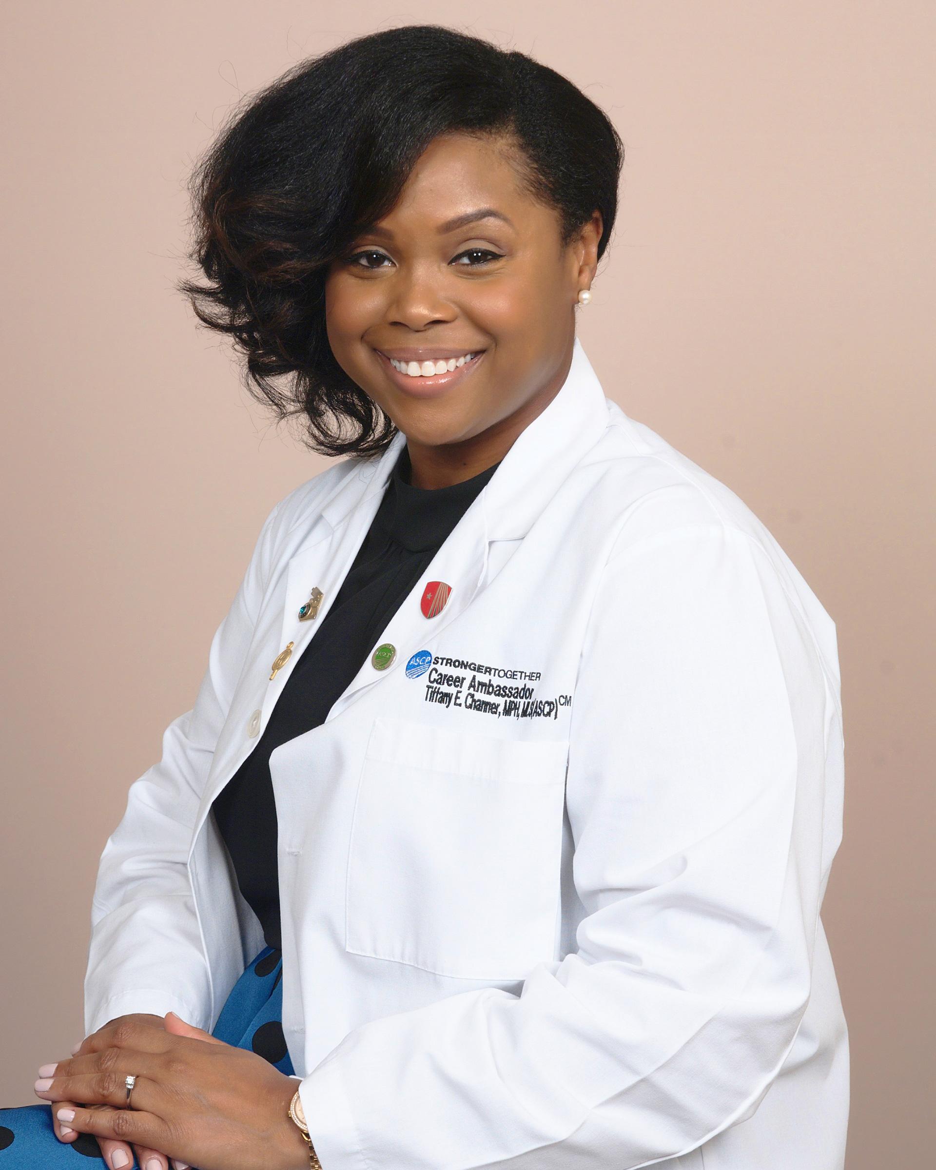 ASCP Patient Champion COVID-19 Tiffany