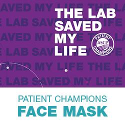 ASCP Patient Champions Face Mask